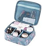 Women Make Up Travel Organizer Toiletry Kit Bag Pouch for Brush Make up Holder Fashion Flamingo Print Portable Flamingo (PART