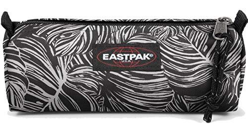 Eastpak Pencil Case BENCHMARK SINGLE EK372 Schwarz Weiß 80V Brize Dark, Size:ONE SIZE