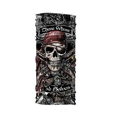 ale Outdoor-Sonnenschutz Piraten Mustermaske Cuff Kerchief (Venezianische Piraten Maske)