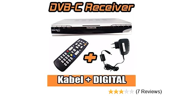 THOMSON DCI 1500G Digitaler Kabel Receiver: Amazon.de: Audio & HiFi