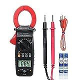 Crenova 6016A Multimeter Strommesszange automatische Messbereichserkennung (Auto-Ranging) Ohm Volt Amp Diodendurchgangs- und Temperaturmessung, großes LCD-Display elektronisches multimeter