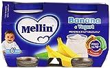 Mellin Merenda Pastorizzata alla Banana e Yogurt - Confezione da 2 x 120 gr