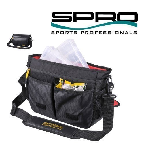 Spro Messenger Bag Deluxe M 620301300 Tacklebox Wobblertasche