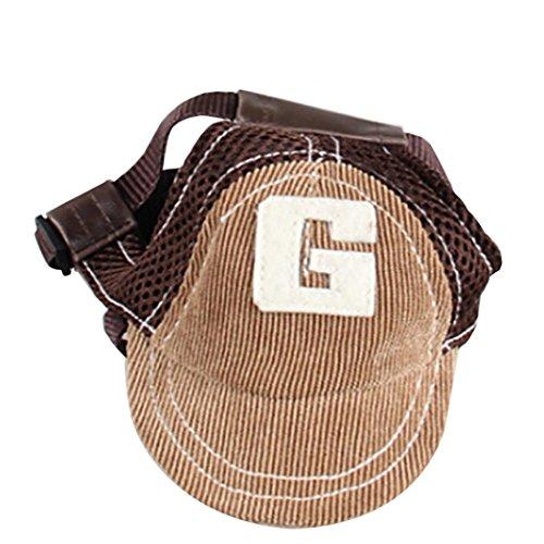 wuayi Sommer Atmungsaktiv Baseball Caps Pet Dog Hüte Große Hunde Sport Sun Hüte Frauen Xl-sonnenhut
