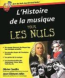 l histoire de la musique pour les nuls