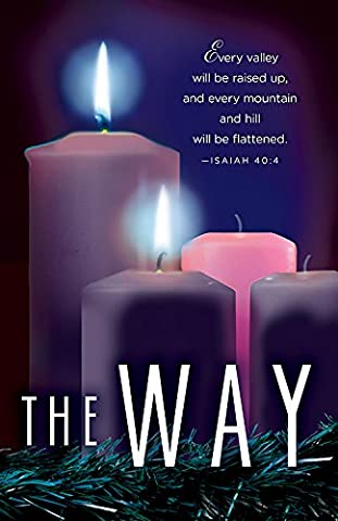 The Way Advent Candle Sunday 2 Bulletin, Pkg of 50: Package of 50