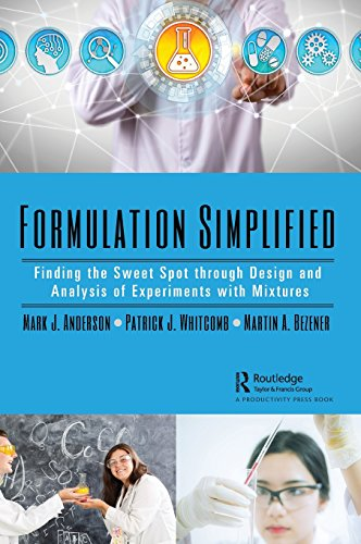 Formulation Simplified: Finding the Sweet Spot through Design and Analysis of Experiments with Mixtures -