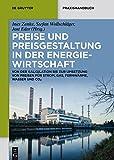Preise und Preisgestaltung in der Energiewirtschaft (De Gruyter Praxishandbuch)