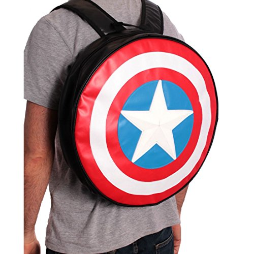 ca Shield Round Back Pack (Captain America-shield-spielzeug)