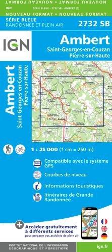 2732SB AMBERT ST-GEORGES-EN-COUZAN PIERRE-S-HAUTE par Collectif
