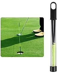 Andux Golf Formación Ayuda Golf Poniendo Cadena Con Pegs Golf Poniendo Línea Guía LXXLQ-01