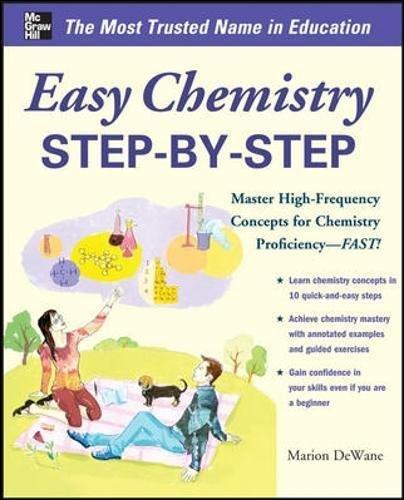 Easy Chemistry Step-by-Step (Easy Step-by-Step Series)