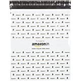 Securement Amazon.In Branded Economy Polybag With Document Pouch (Size: 17 Inches X 19 Inches, 100 Polybags)