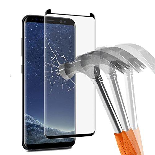 Protection écran Samsung S8 Plus en Verre Trempé, Angozo Film Protection d'écran en Verre Trempé pour Samsung Galaxy S8 Plus