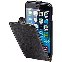 Hama Flip Case (für Apple iPhone 6 (4,7 Zoll) Tasche, maßgefertigte Schutzhülle mit Magnetverschluss) schwarz