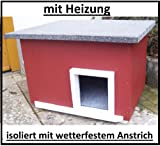 Katzenhaus mit Heizung
