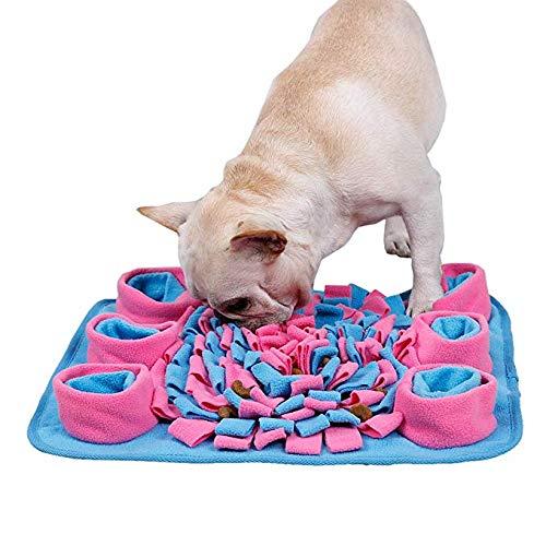 SXJ Fütterungsmatte Für Hunde, Fördert Das Natürliche Futtersuchen, Ist Langlebig Und Maschinenwaschbar Und Perfekt Für Jede Rasse (Puzzle Schale Für Hunde)