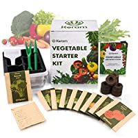 KORAM 6 Seed Tray + herb kit + vegetable kit