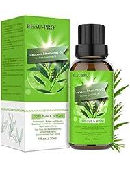 Teebaumöl Naturrein 100% Teebaum öl - Tea Tree Oil für Shampoo Gesicht - Akne Öl, Acne Serum, Anti-Akne-Behandlung Gegen Unreine Haut, Anti Pickel, Akne -30ml