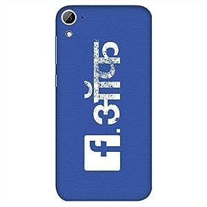 Bhishoom Designer Printed Back Case Cover for HTC Desire 826, HTC Desire 826 Dual Sim (Fck Off Humour)