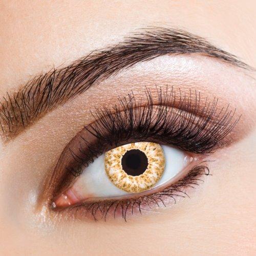 ge farbige Kontaktlinsen für Freizeit Party Halloween Karneval ()