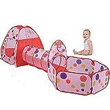 Tienda túnel Interior y Casas de Niños y Jardín VicPow tiendas de campaña para la Infancia (bolas no está incluido)