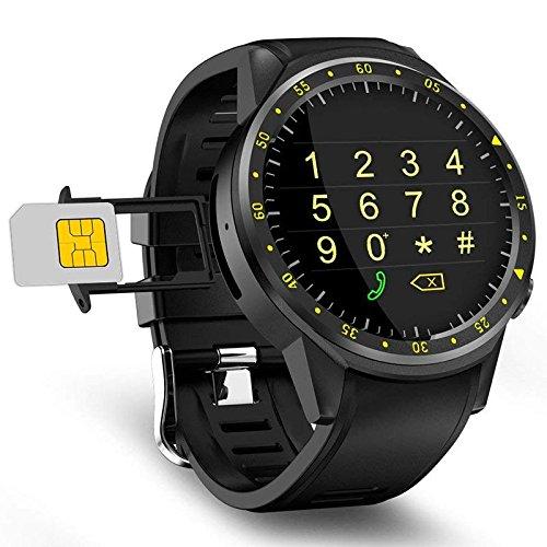 TOOGOO Reloj Inteligente Deportivo F1 Camara GPS Soporte