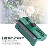 Bar Dresser - Delaman Universal Fine Steel Chainsaw Chain Guide Bar Ferroviario Dresser Prato Garden Tool 11 * 6 * 4 cm