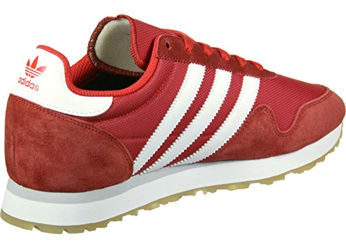 adidas Herren Haven Sneaker Rot (Red/Footwear White/Gum)