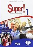 Super! Student's book-Workbook. Per la Scuola media. Con e-book. Con espansione online. Con 2 libri: Mini dictionary-Grammatica e certificazioni. Con CD-Audio: 1