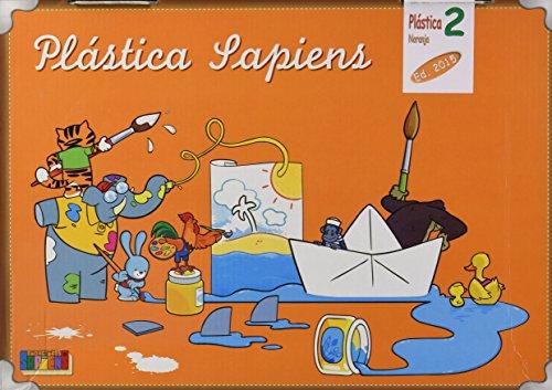 Plástica naranja, dibujo y manualidades, 2º Primaria - 9788416168460