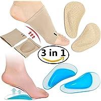 Arch Support Kompression Sleeves, Schuh Kissen Einlegesohlen Pads für flache Füße, Plantarfasziitis, Fuß Schmerzen... preisvergleich bei billige-tabletten.eu