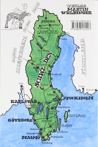 Schweden: Inklusive Kungsleden und Sarek Nationalpark (Unkonventionelle Reiseführer): Alle Infos bei Amazon