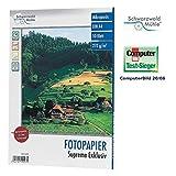 Schwarzwald Mühle Tintenstrahl-Papiere: 10 Bl. Hochglanz-Fotopapier Supreme exklusiv 270g/A4 (Druckerpapier)