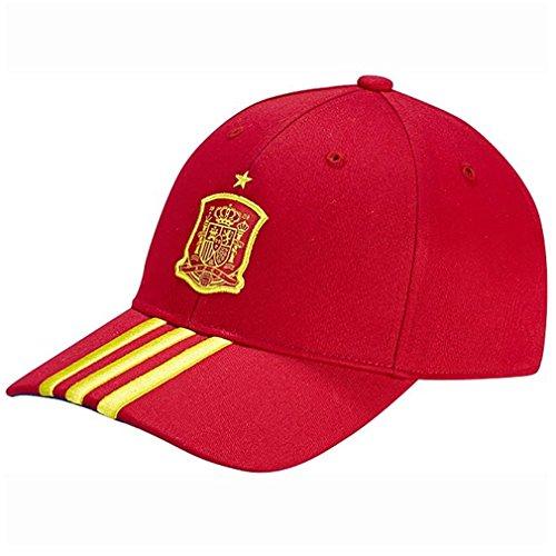 adidas-seleccion-espanola-de-futbol-gorra-productos-para-fans-para-hombre-color-rojo-talla-m
