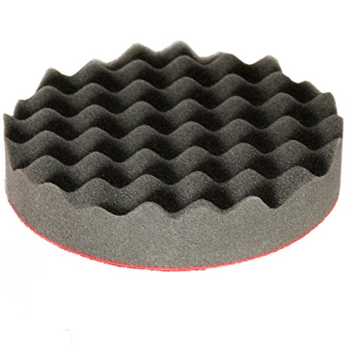 Disque de polissage 150 x 30 mm Soft gewaffelt (5312) - -- Pads de polissage éponge schaumpad Embout de polissage de polissage - Abacus