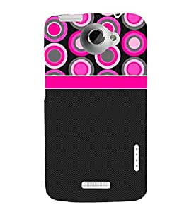 For HTC One X :: HTC One X+ :: HTC One X Plus :: HTC One XT rings Printed Cell Phone Cases, circles Mobile Phone Cases ( Cell Phone Accessories ), cute Designer Art Pouch Pouches Covers, girly Customized Cases & Covers, contrast Smart Phone Covers , Phone Back Case Covers By Cover Dunia