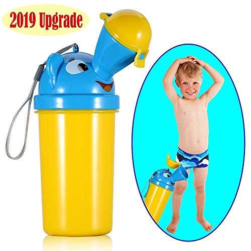 BYETOO Minzione Dispositivo Portatile di Emergenza orinatoio vasino WC, per Bambini, a Tenuta Bambino Kid Potty Pee Training, utilizzato per Auto Viaggio Campeggio e attività all' Aperto, 500 ml
