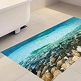 JY ART X Fliesen-Aufkleber Dekorative Küchen-Fliesen überkleben - Dekorative Bad-Gestaltung Tile Style Decals Bodenaufkleber DB010, 01