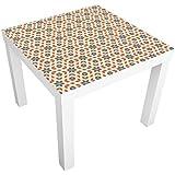 Vinilo adhesivo para muebles IKEA - Lack table Pop Art Design, Größe:55cm x 55cm