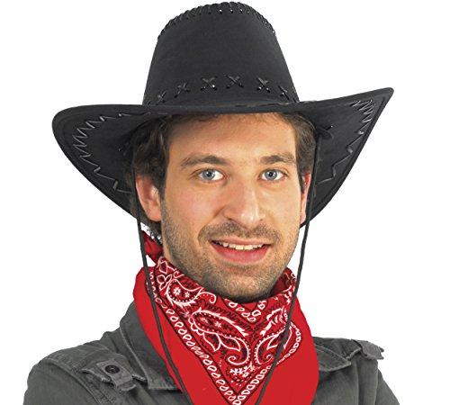 Guirca- Sombrero vaquero símil-piel, u (13068.0)