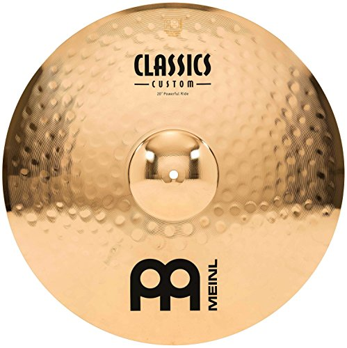 Meinl Cymbals CC20PR-B Classics Custom Serie 50,80cm (20 Zoll) Ride Powerful Brilliant Finish Becken
