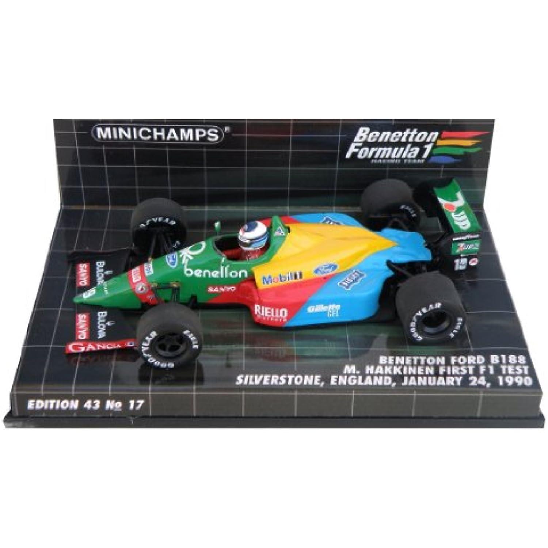 Minichamps Minichamps Minichamps - 400890219 - Véhicule Miniature -  Benetton B 188  -  First F1 Test Silverstone 1990  -  Echelle 1/43 f43bd3