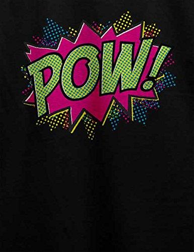 Comic Pop Art T-Shirt Schwarz