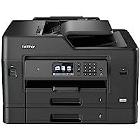 Brother MFCJ6930DW Stampante Multifunzione Inkjet a Colori fino al Formato A3, Doppio Cassetto Carta, Rete Cablata, Wi…
