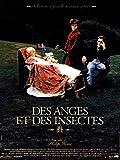 Affiche 120 x 160 du film 'DES ANGES ET DES INSECTES' de Philip Haas . Cannes 1995 .