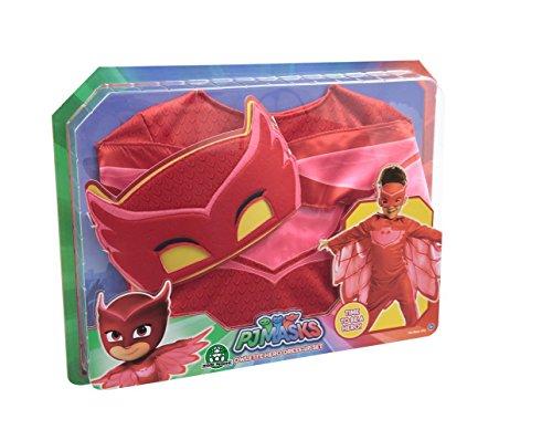 Pyjamasques - PJM074 - PJM - Déguisement - Bibou - 4-6 ans (93 cm)