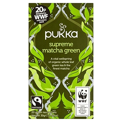 Pukka Teas Erbe Pukka Supremo Tè Verde Matcha 20 Per Confezione