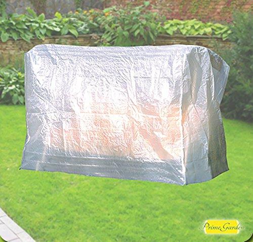 Confort Housse de protection pour balancelle de jardin pour 3Transparent 215x 155x 145cm