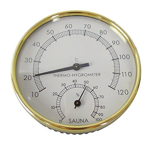 Sauna Thermometer und Hygrometer